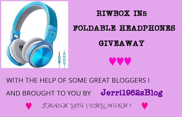 RIWBOX IN5 FOLDABLE HEADPHONES GIVEAWAY