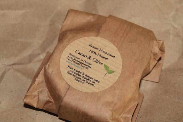 Baume Nourrissant Cacao et Olive - So Champs