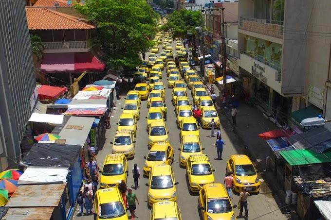 Más de 2 mil taxistas protestarán en Santa Marta