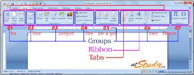 MS Word Insert Tab