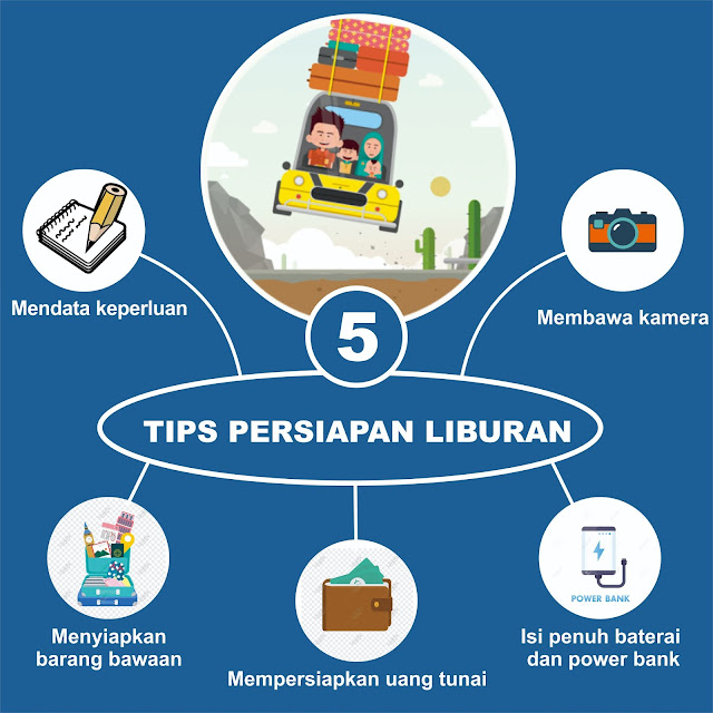 5 tips liburan