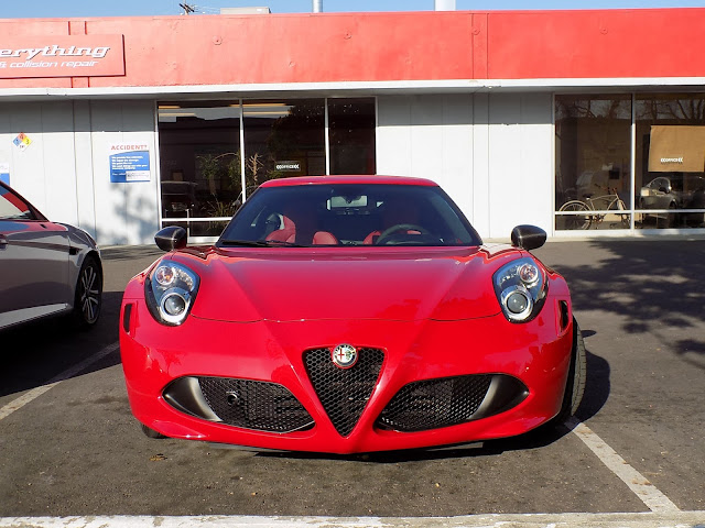 2015 Alfa Romeo 4C--Light