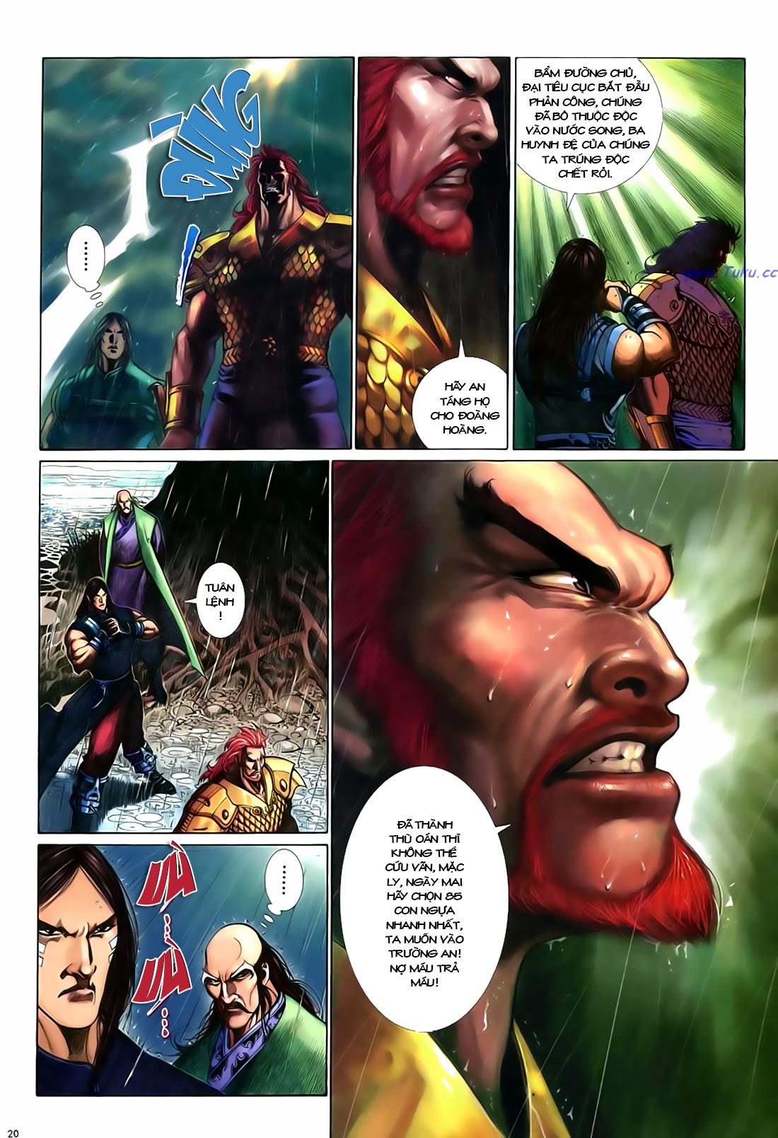 Anh hùng vô lệ Chap 18 trang 21