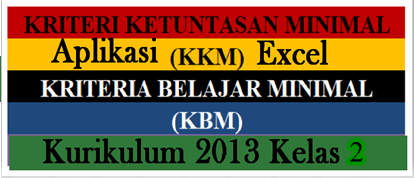 Download Gratis Aplikasi KKM K13 Kelas 2 SD/MI Edisi Terbaru
