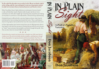 Book cover - full wrap: In Plain Sight by Don Jacobson