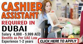 Cashier Assistant Recruitment in Dubai For Consumer Goods Industry