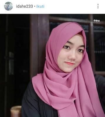 cara memaki jilbab agar terlihat tirus