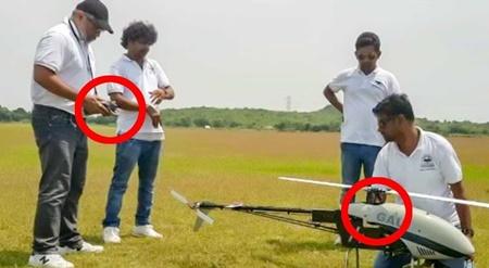 VIDEO: Thala Ajith flying RC Plane with Team Dhaksha