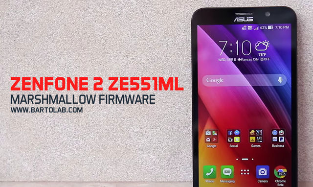 Zenfone 2 ZE551ML Marshmallow Updates
