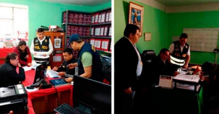 Fiscalía inicia detención a 7 funcionarios de la UGEL Ayabaca, acusados por desvío de más de 3 millones de soles