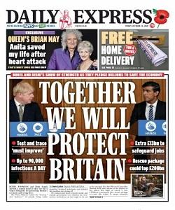dailyexpress, daily express magazine 23 October 2020, daily express magazine, daily express news, free pdf magazine download.
