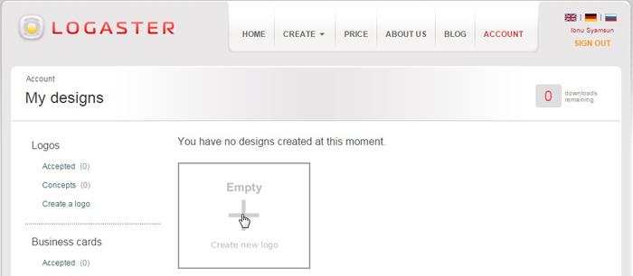 cara membuat logo dengan photoshop + video