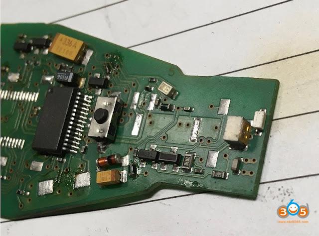 Change CGDI MB IR transmitter and receiver 2