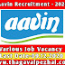Aavin Recruitment 2020 / 176 Various Job Notification