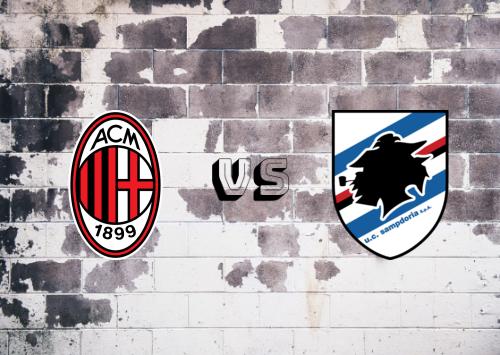 Milan vs Sampdoria  Resumen y Partido Completo
