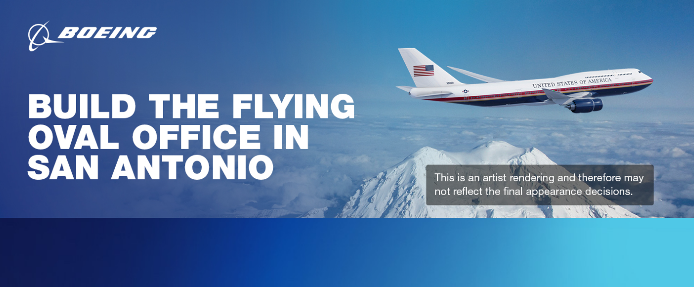 Boeing está à procura de profissionais para a construção do novo Air Force One, o novo avião presidencial dos EUA | É MAIS QUE VOAR