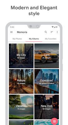 تحميل تطبيق Memoria Photo Gallery