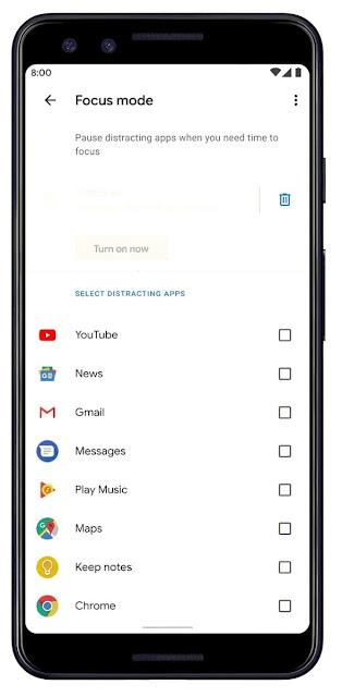 Focus Mode يترك النسخة التجريبية للرفاهية الرقمية ومكاسب جديدة ومفيدة