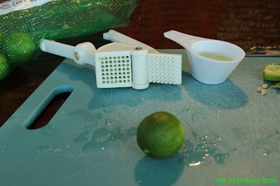 key limes, juice making,