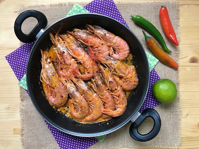 gambones piripiri receta