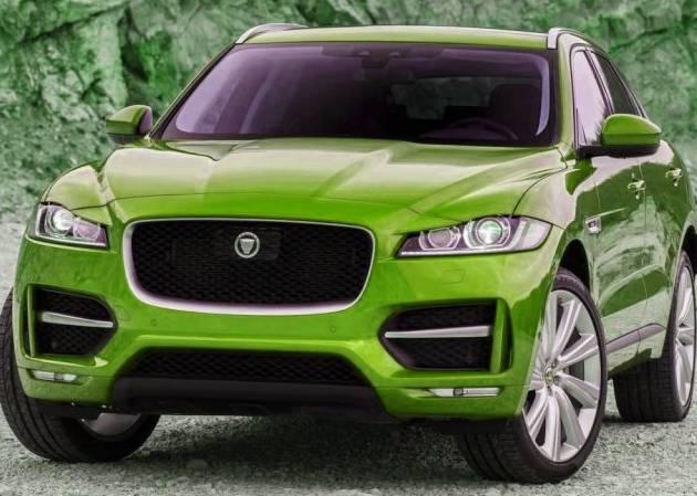 New F Pace 2017 Jaguar