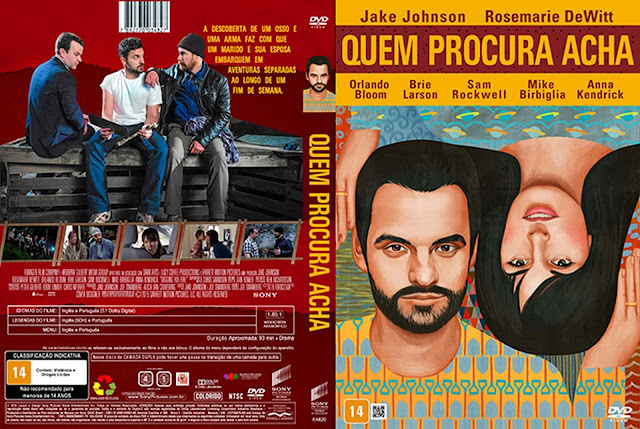 Capa DVD Quem Procura Acha
