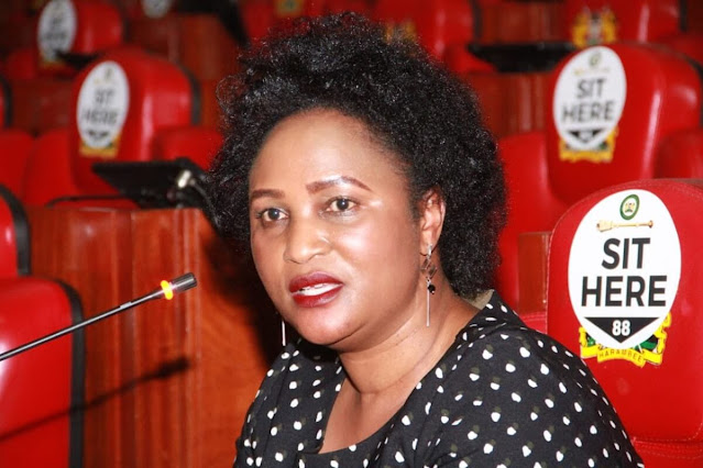 Registrar of Political Parties Anne Nderitu photos