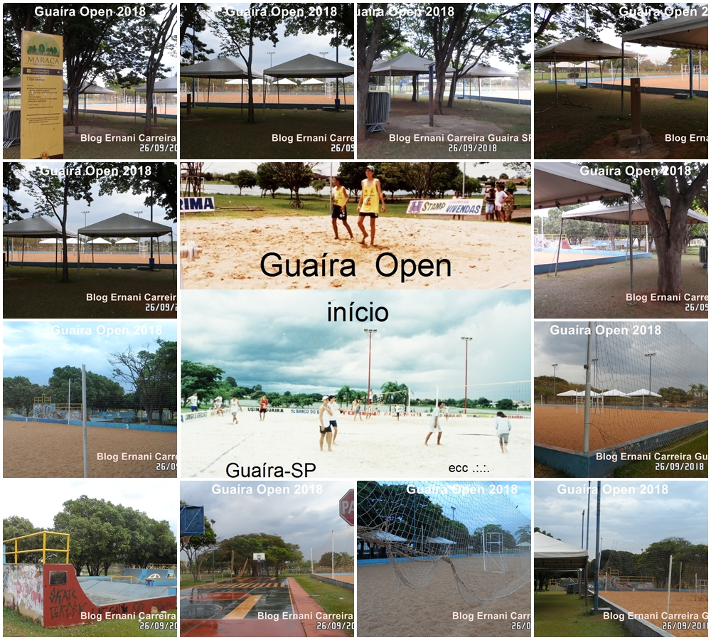 Álbum de Fotos Guaira Open 2018