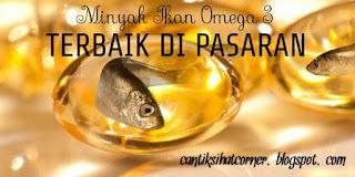 Minyak ikan omega 3 yang bagus