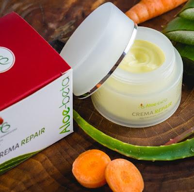 Crema repair contribuisce a mantenere in buono stato la pelle