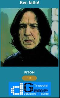 Soluzione Quiz Harry Potter livello 19