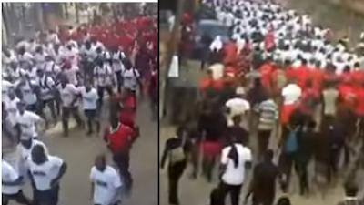 More IPOB Members Protest In Enugu Over Killing (Video)
