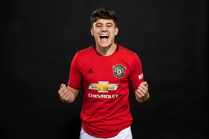 Manchester United winger Daniel James is not giving up on his Old Trafford dream.