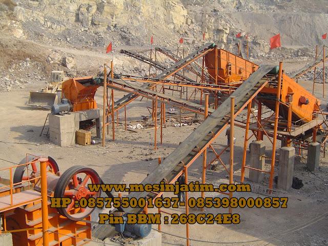 Harga mesin stone crusher di indonesia
