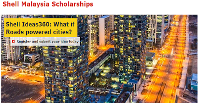 shell malaysia scholarship apply online