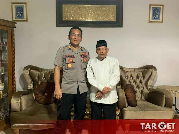 Kapolres Gowa Silahturahmi ke Ketua Nahdatul Ulama Gowa, Ini Tujuannya