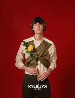 INYIM Media Fashion Campaign: KYLE'LYK Unleashes Spring/Summer 2021 Ad. Featuring Model Julien Saunier!