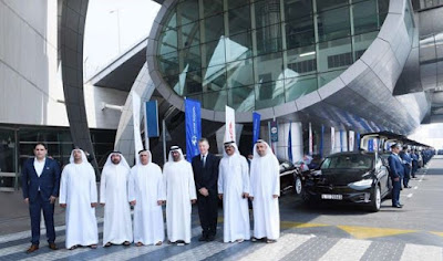 Dubai Use Tesla Model S Model X For Fleet & Taxi