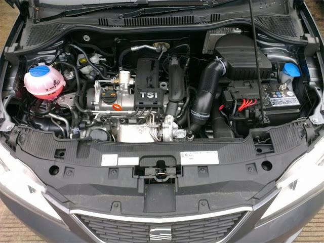2018 Seat Toledo 1.2 TSI engine test
