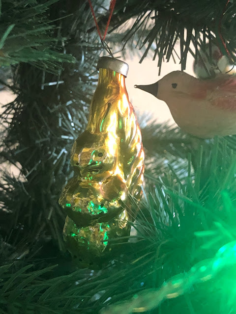 vintage Christmas tree decorations, Chez Maximka