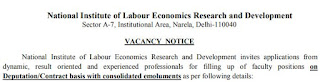 NILERD Joint Director Recruitment 2019-20 - Previous Papers