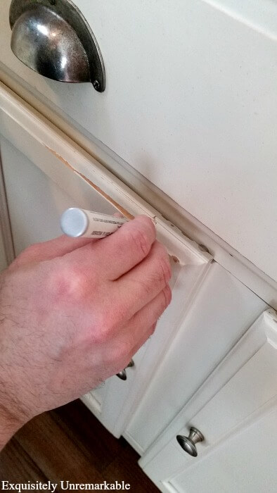 How To Fix Chipped Cabinets