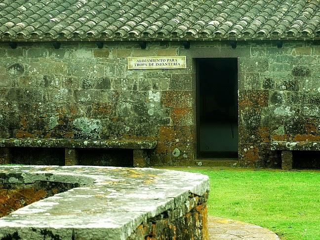 Alojamento para a Tropa de Infantaria, no Fuerte de San Miguel, Chuy
