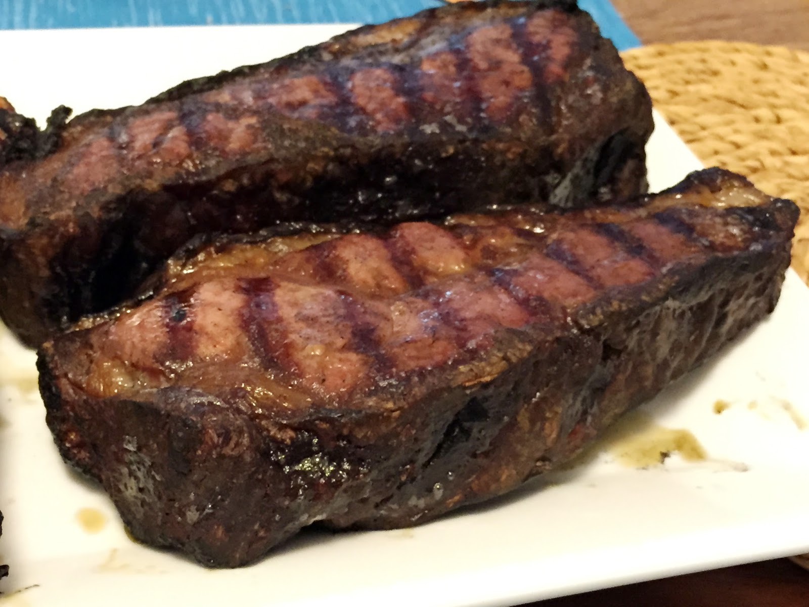 dry rubbed aged steaks from Seed to Sausage, Ottawa