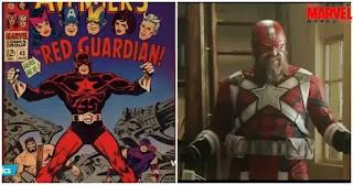 Origin of Red Guardian in Marvel's Black Widow movie