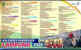 Jelajah Nusantara : Kalender Pariwisata Lampung Tahun 2020