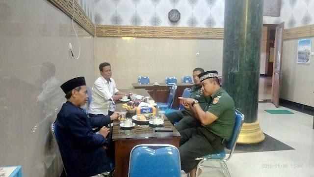 Dandim Klaten Silaturohmi Dengan Ketua MUI Kab Klaten