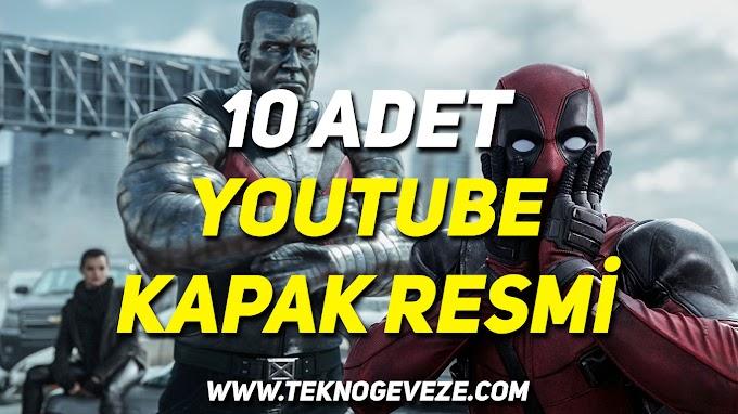 10 Adet YouTube Kapak Resmi (Photoshop .psd)