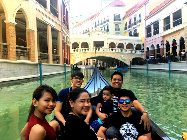 Venice Grand Canal Blog - Gondola Ride at Venice Grand Canal Mall McKinley Hill BGC Taguig