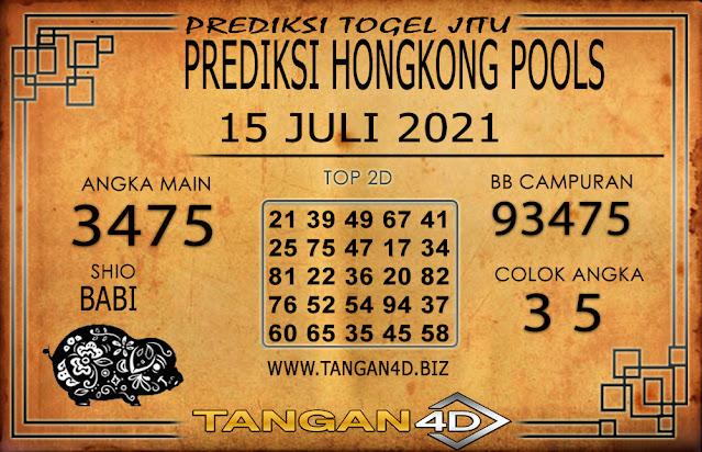 PREDIKSI TOGEL HONGKONG TANGAN4D 15 JULI 2021